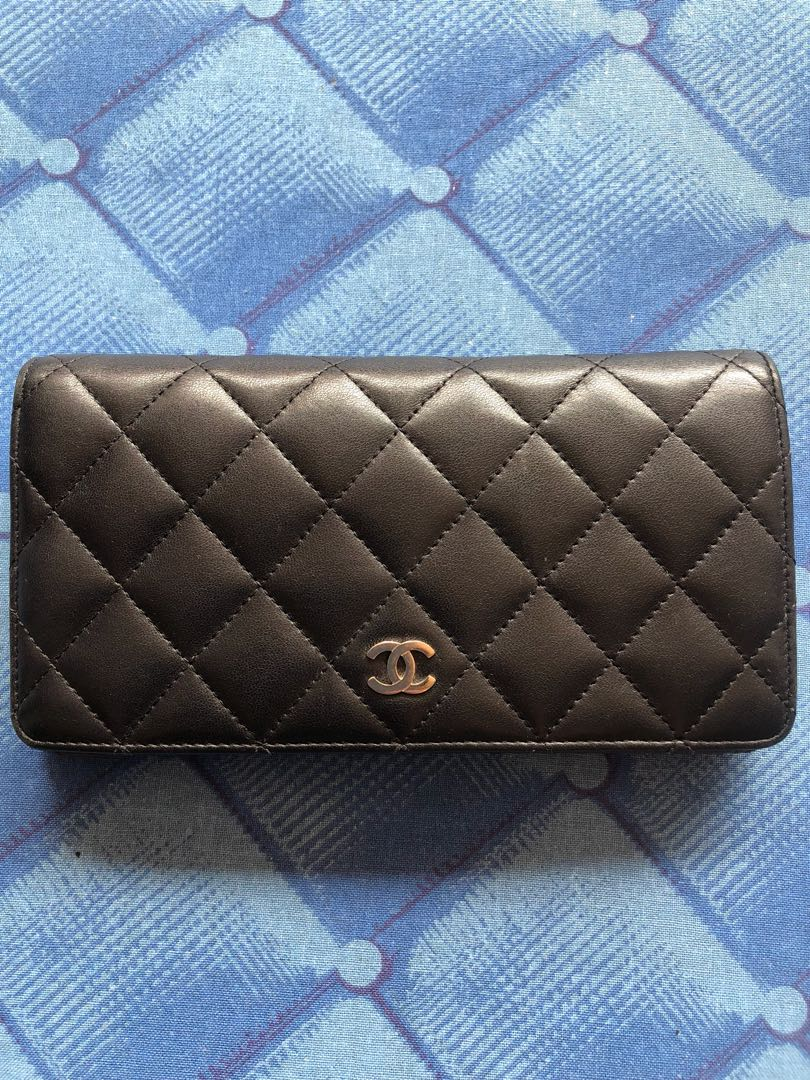 4ee74fbde9bc1a Authentic Chanel Bi-fold Wallet, Luxury, Bags & Wallets, Wallets on ...
