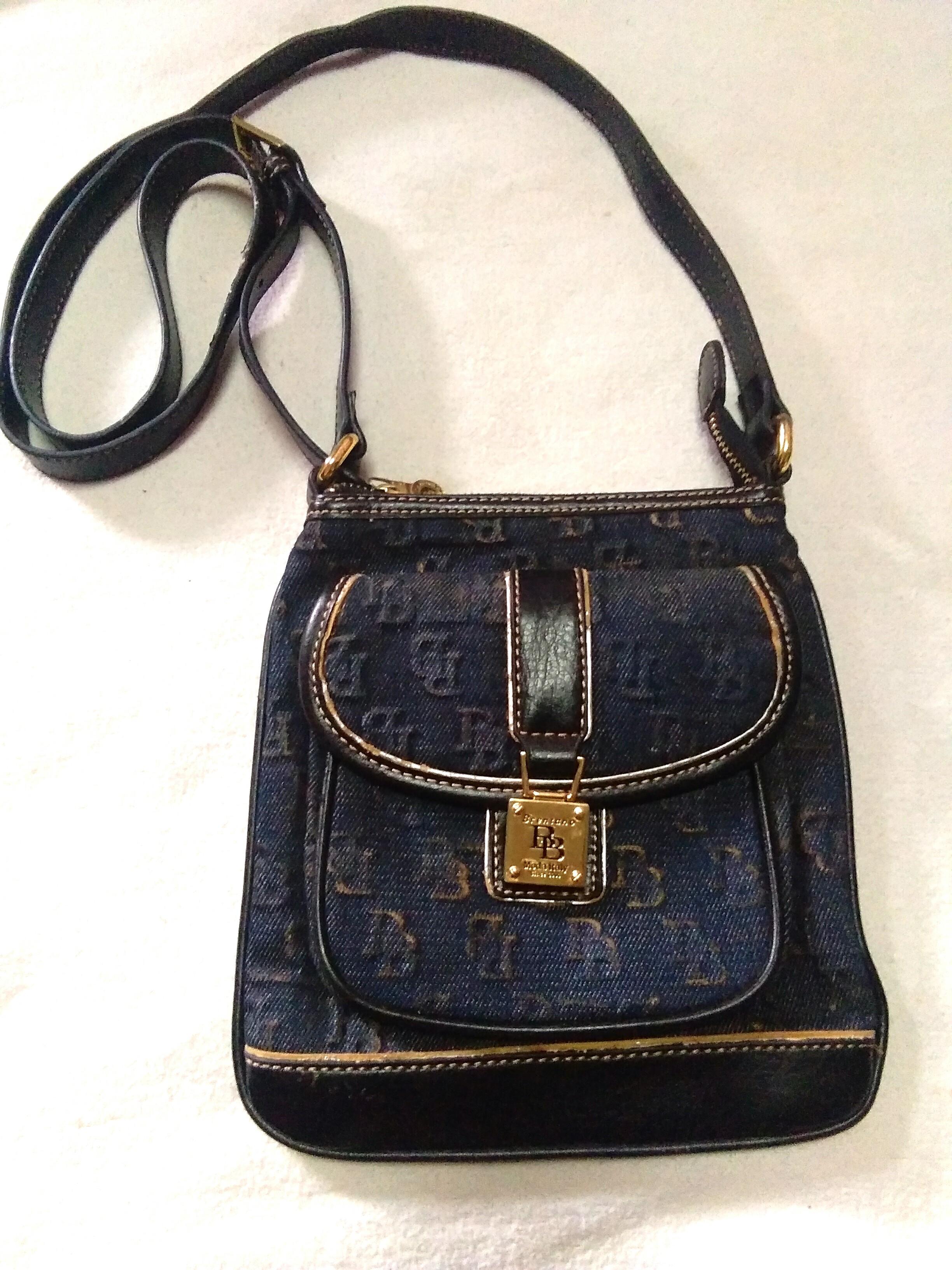 B Brentano Vintage Sling Bag Women S Fashion Bags Wallets On Carou
