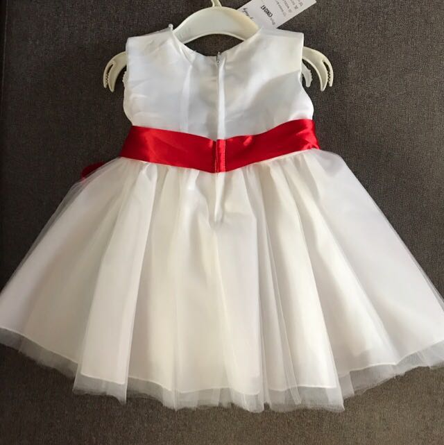 Baby Girl White Tulle Dress 6 12 Month Babies Kids Babies