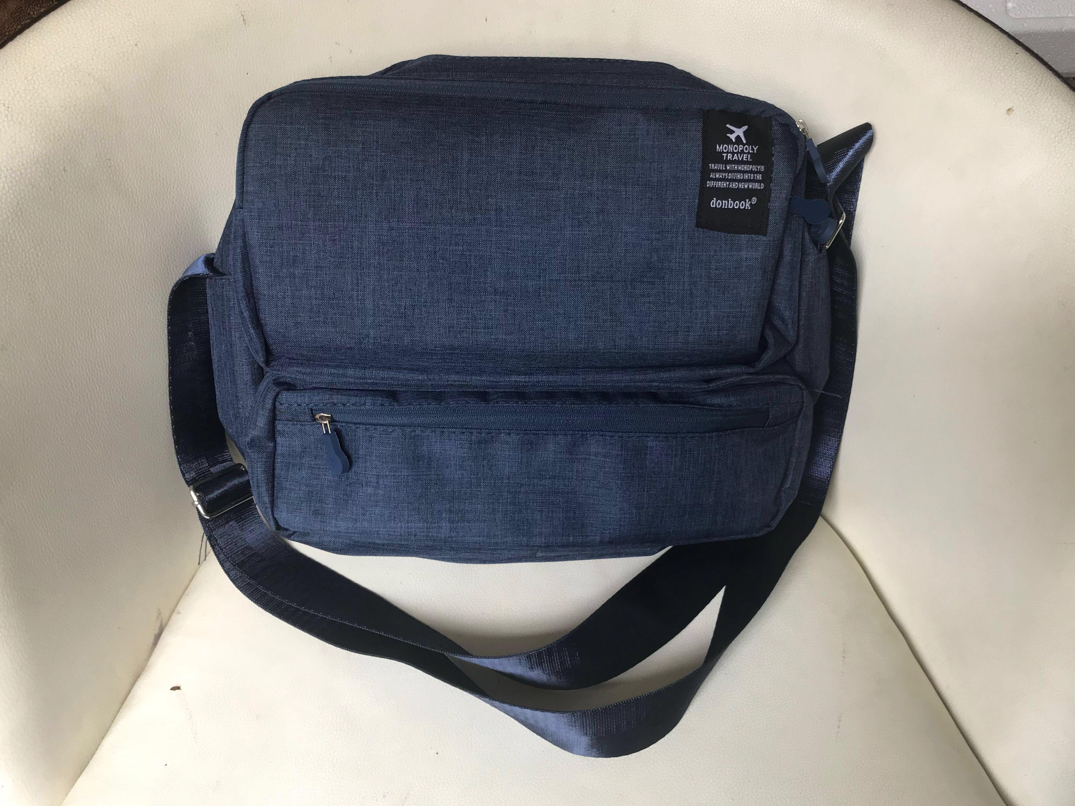 BNIB MONOPOLY Grand Voyaging Bag v.2 - Travel Bag Mens Bag Messenger Bag  Hand Bags, Men's Fashion, Bags & Wallets, Sling Bags on Carousell