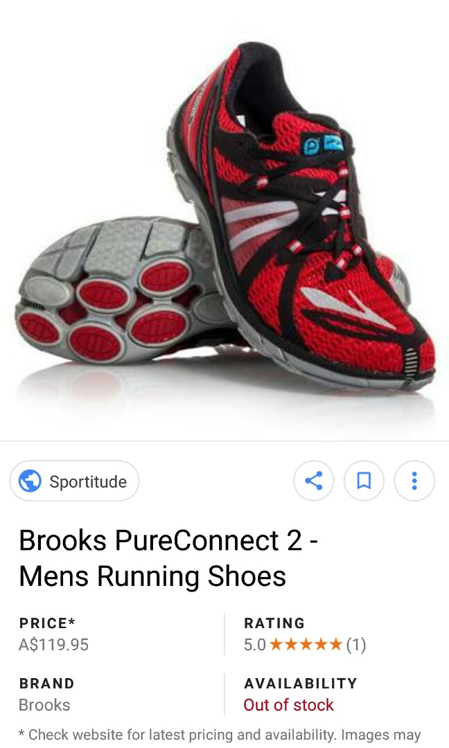 afe7d52b998 Brooks Pure Connect 2 size 45-46