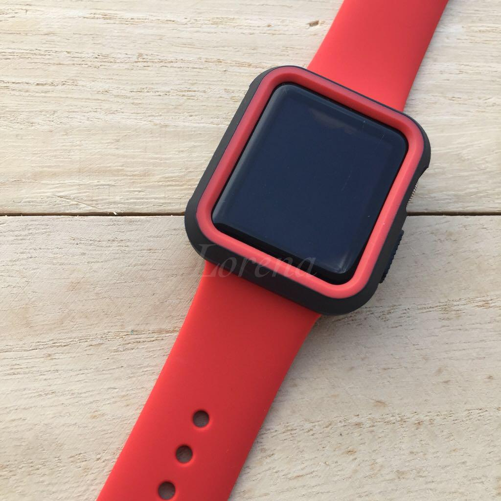 Combo Replacement Strap and Bumper for Apple Watch