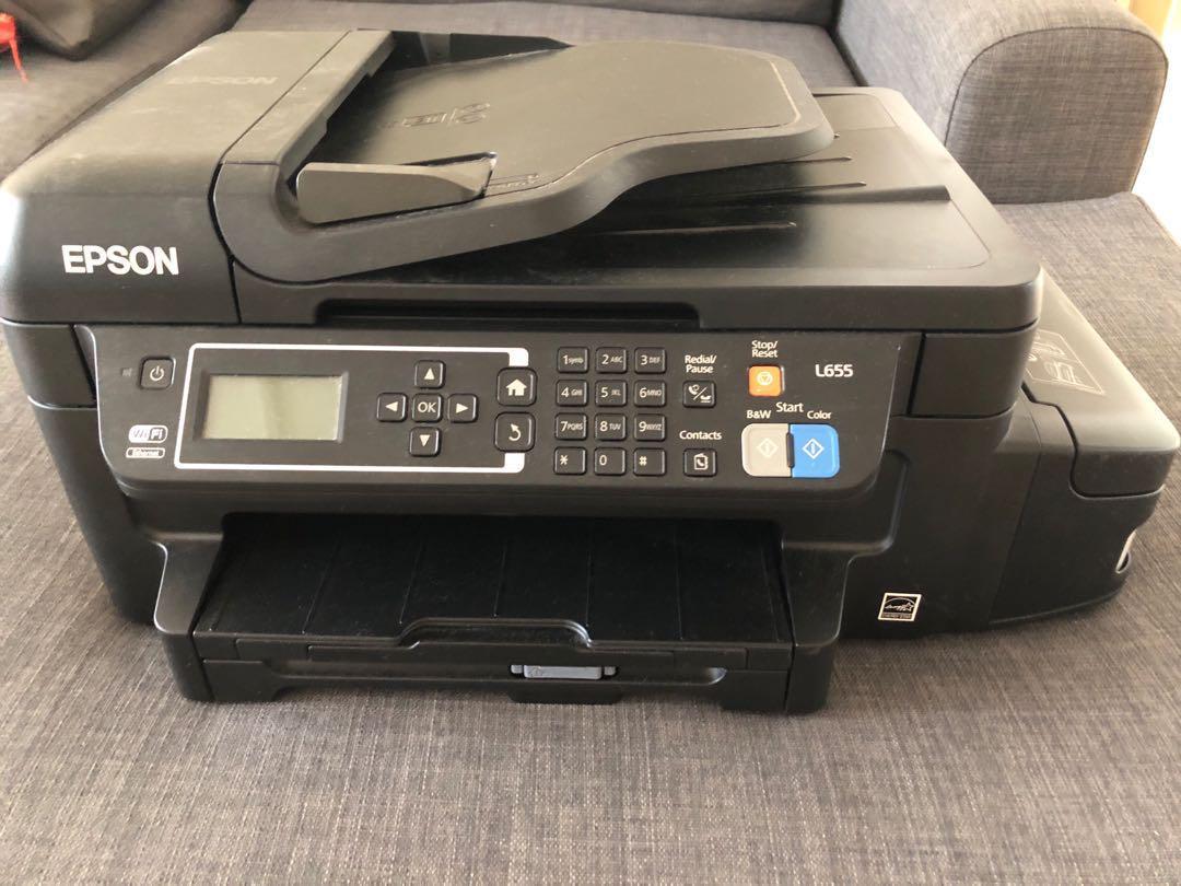 EPSON L655 printer, Electronics, Computer Parts