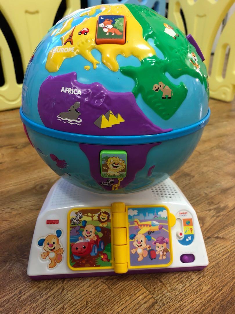 7eb1a4a04 Fisher Price globe