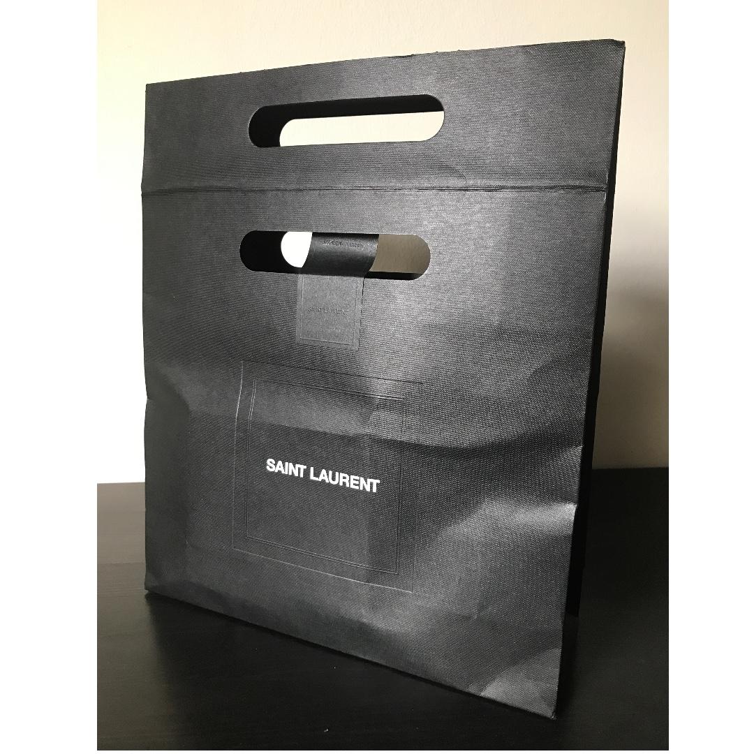 7abc23caf8 Genuine Saint Laurent Paper Bag