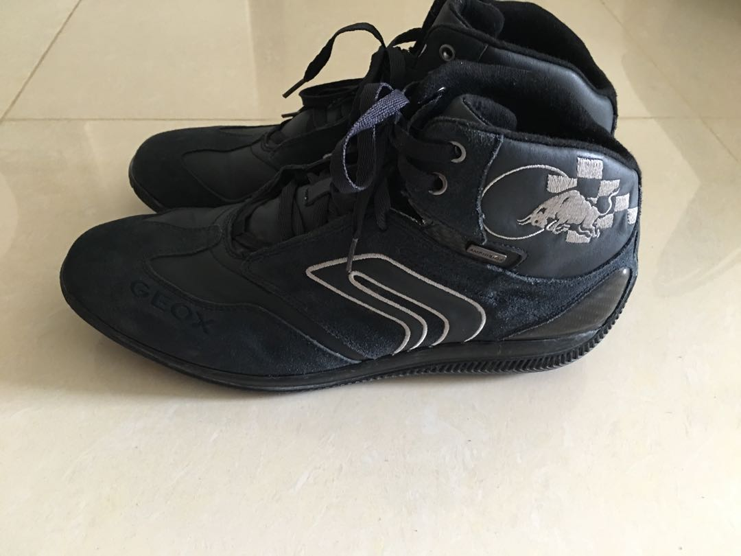 Geox Respira Racing Driving Red Bull ShoeMen's FashionFootwear AjL435R