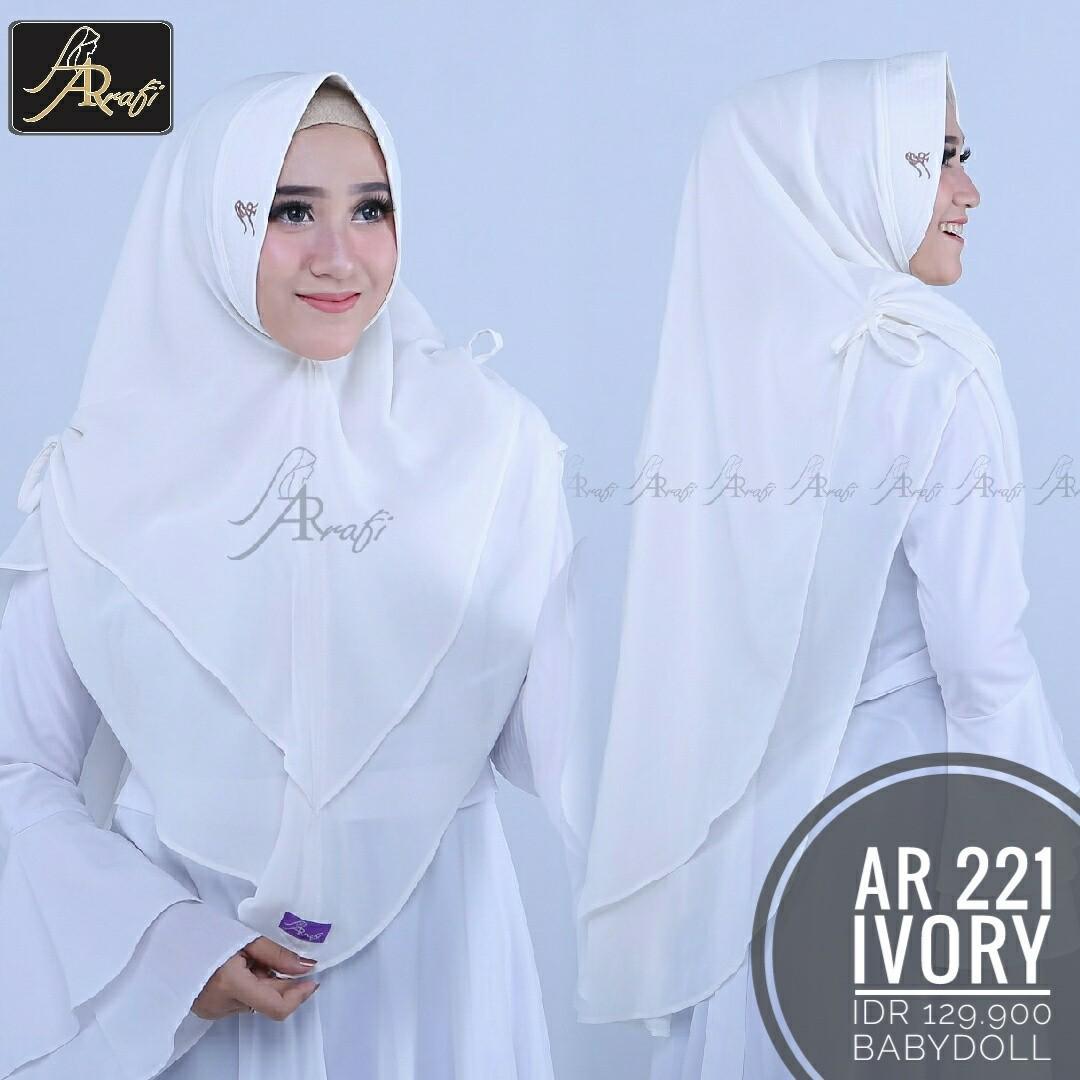 Hijab Arrafi Ar 221 Olshop Fashion Olshop Muslim Di Carousell