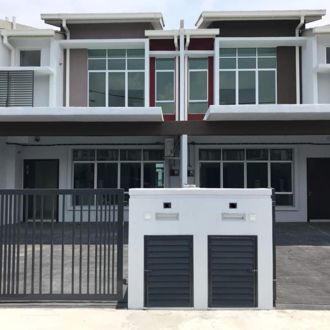 Hillpark Puncak Alam Shah North 2 Sty Semi Furnished New House Property Sewa Rumah Di Carou