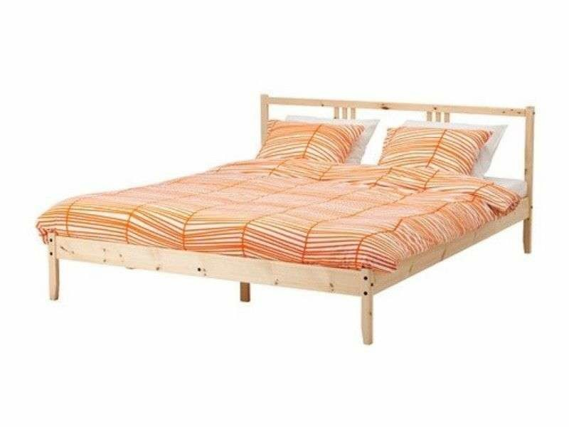 7fc700af8ebc Ikea queen size Bed Frame at beach road, Furniture, Beds ...