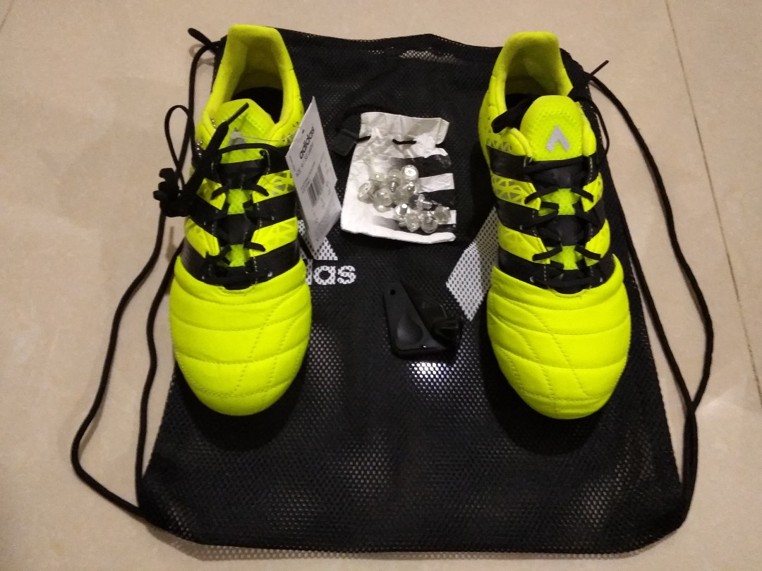 pick up c5766 586bc Adidas ACE 16.1 Sg Leather