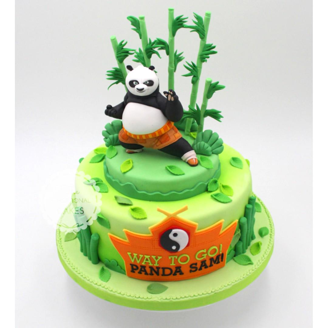 Prime Kung Fu Panda Cake Ideas Wiki Cakes Funny Birthday Cards Online Alyptdamsfinfo