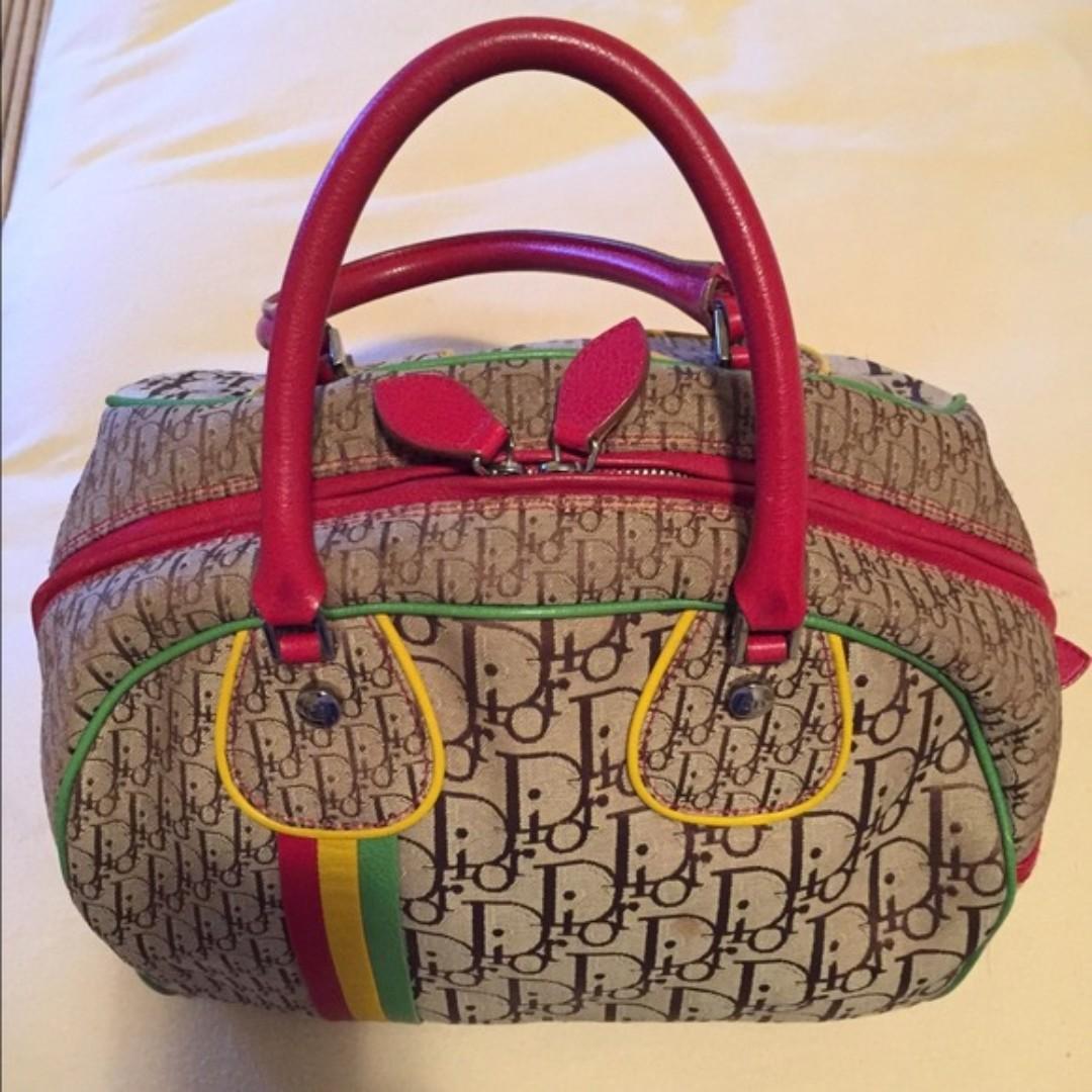 c12ad1178826 Limited Edition Dior Rasta Bowler Bag
