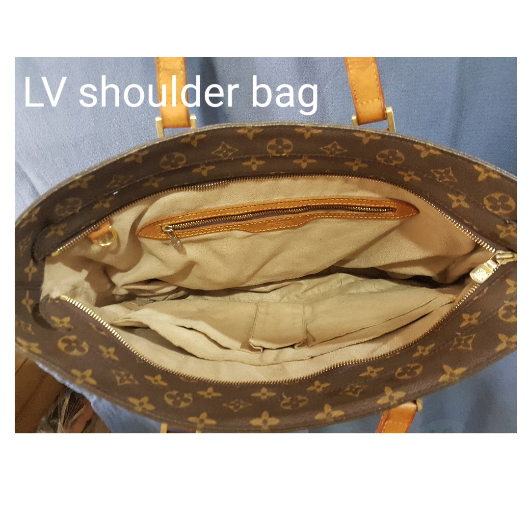 584fa9d6c55 Louis Vuitton big shoulder bag for women (Replica only), Women s Fashion,  Bags   Wallets on Carousell