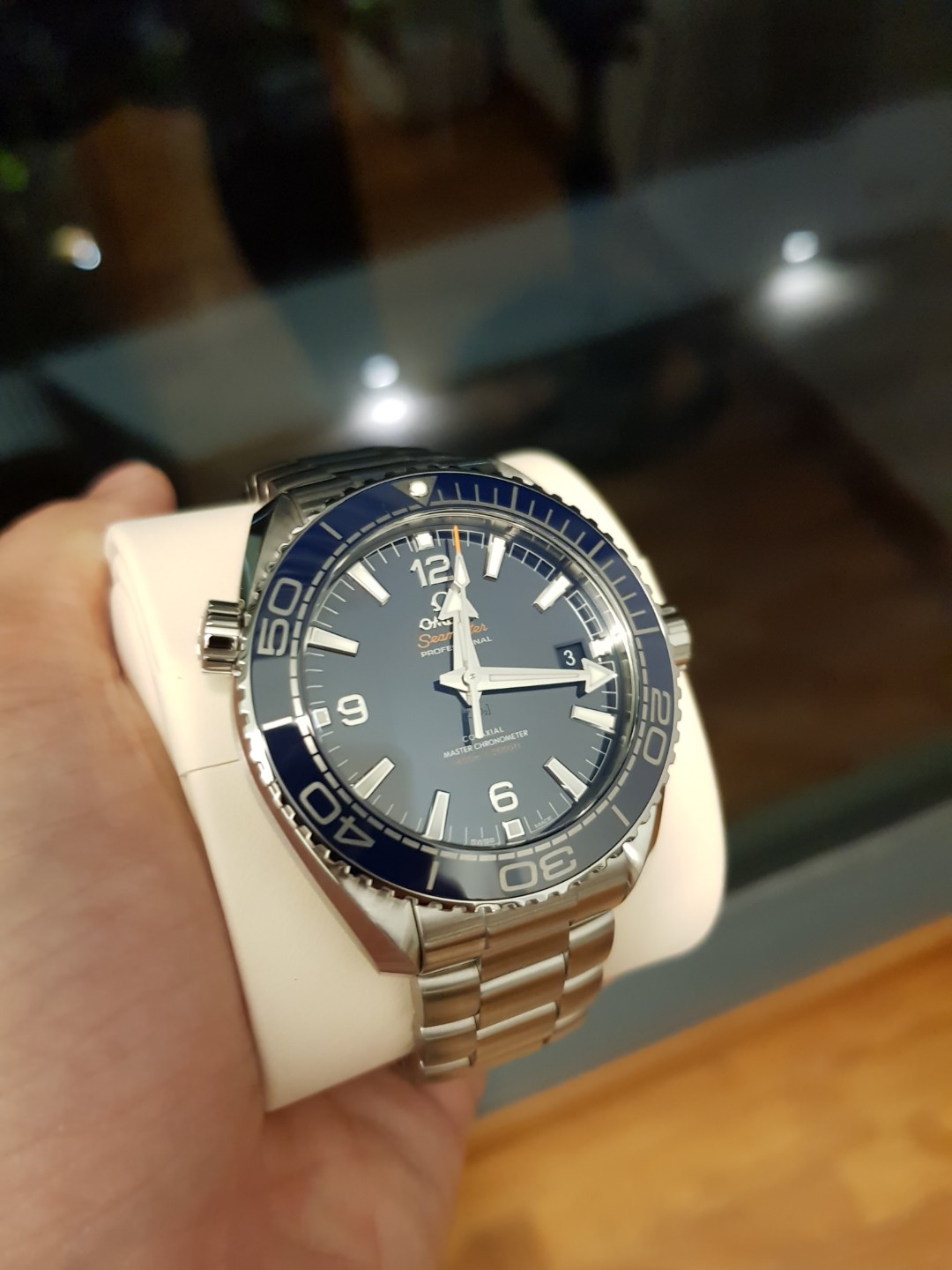 a10929c2c4e6b3 Lowest Price!! Brand New In Box Omega Seamaster Planet Ocean 600m ...