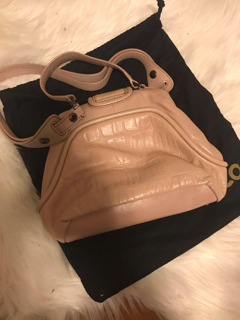 Mimco Beige small bag