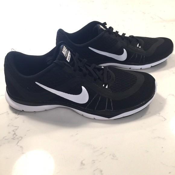 Nike Flex Trainers 6 (Black), Women's