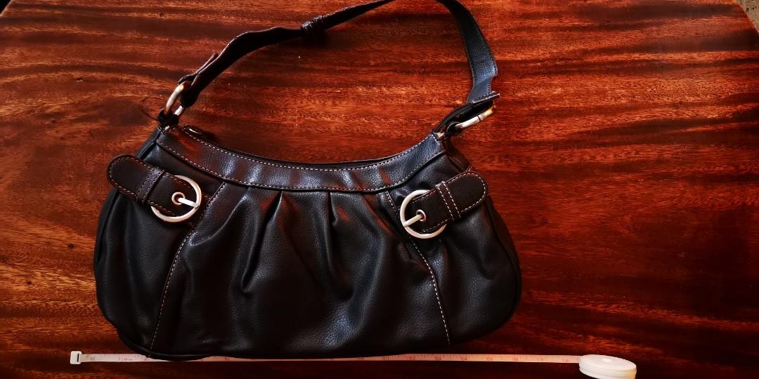 Ninewest Black Leather Hobo Handbag Pre Loved Designer Bags On Women S Fashion Wallets Carou