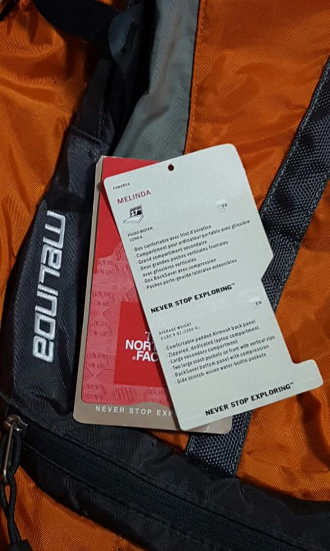 North face day pack