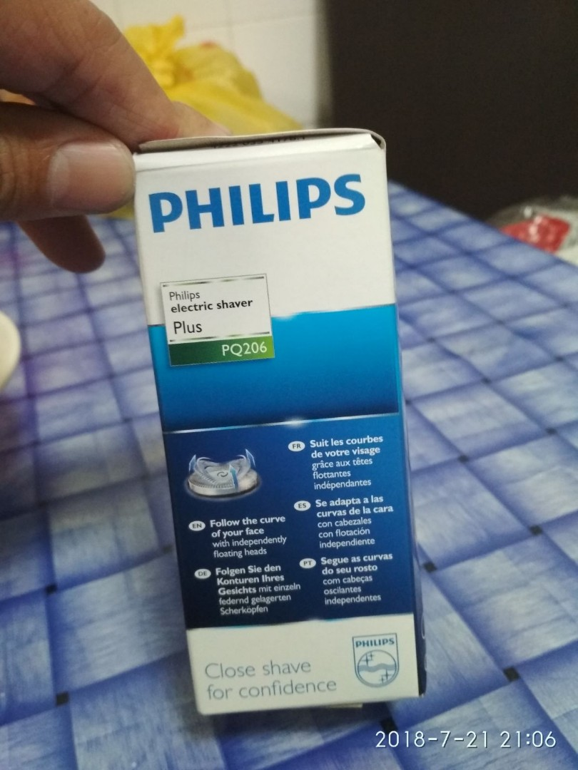Philips Electric Shaver Health Beauty Mens Grooming On Carousell Pq206 Share This Listing