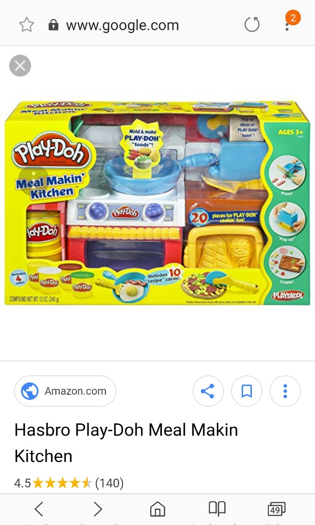 Play Doh Meal Makin Kitchen Set Babies Kids Toys Walkers On