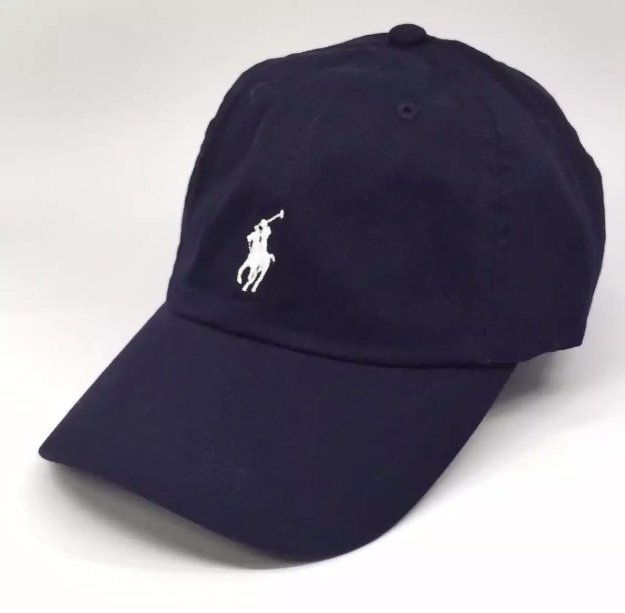 ecb1d0ac Ralph Lauren Baseball Cap Navy Blue, Everything Else on Carousell