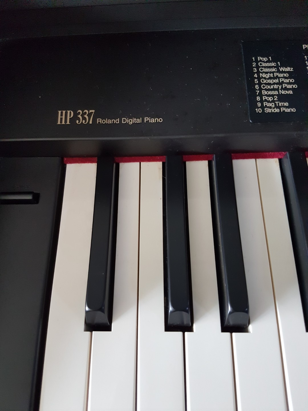 Roland HP337 Digital Piano, Music & Media, Music Instruments