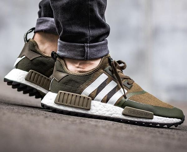 05637055932b9 🎉SALE Instock Adidas NMD R1 PK Trail x White Mountaineering Olive ...