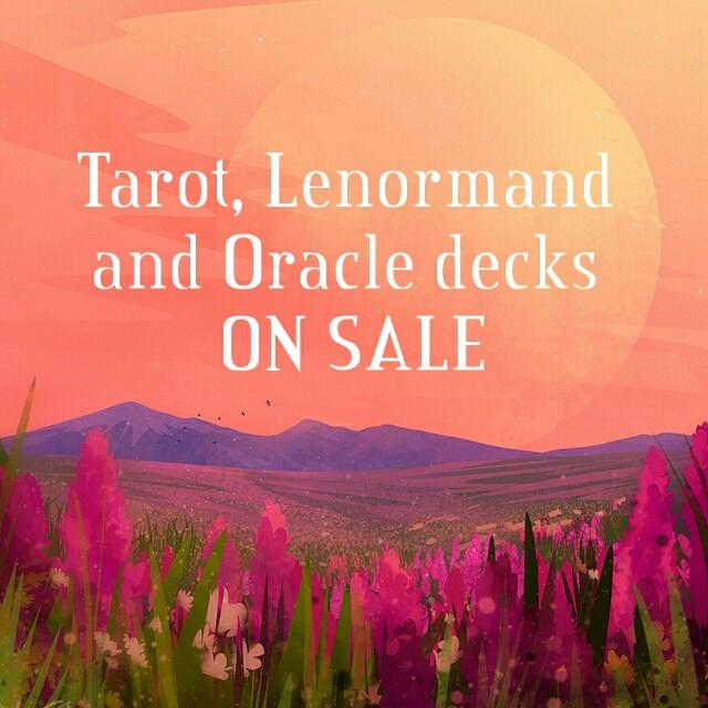SALE, Tarot Decks And Oracle Decks, Divination, Fortune Telling