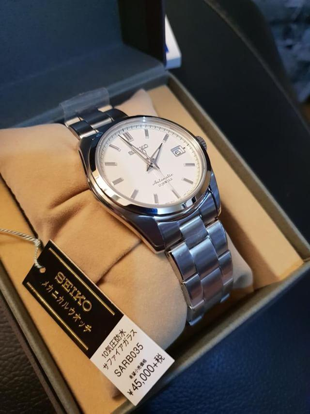Seiko Automatic Dress Watch Sarb 035 On Carousell