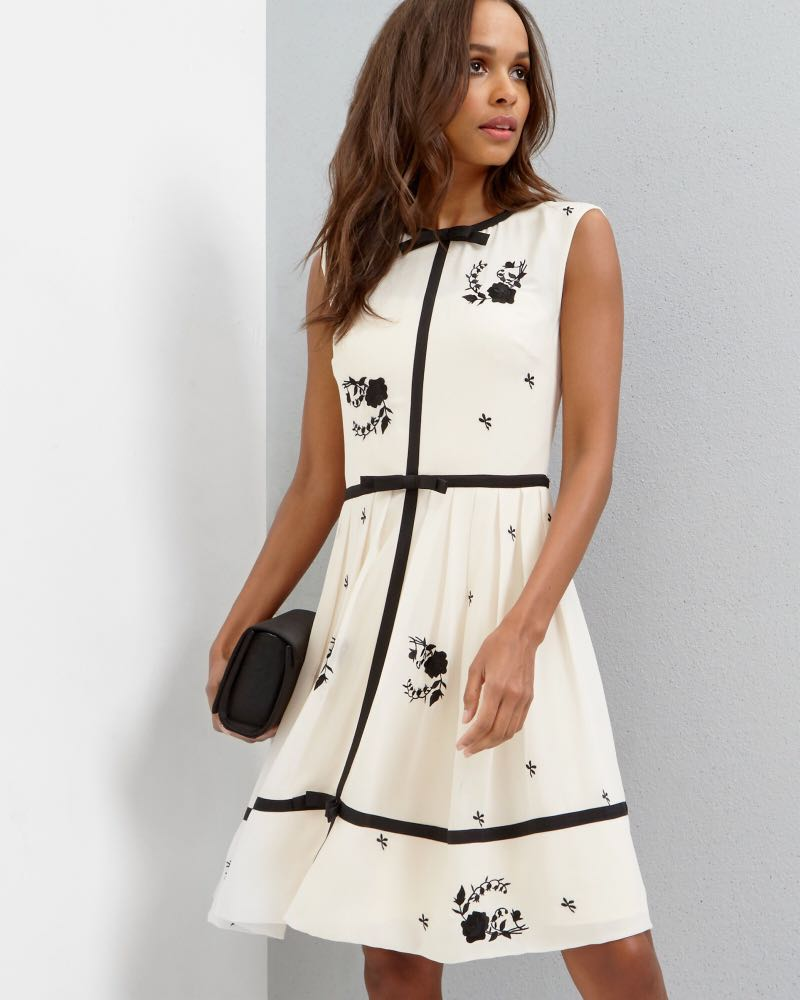 0f405b703 Ted Baker Bow Detail A-line dress