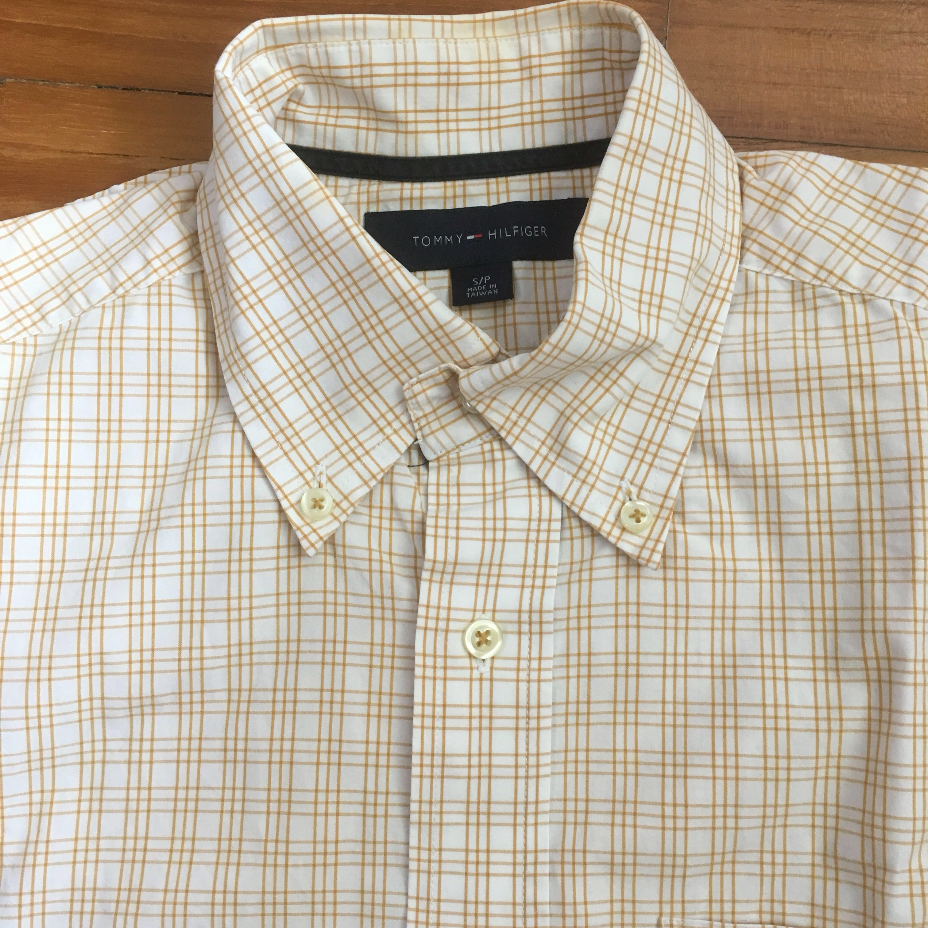 6f8ea88b2 Tommy Hilfiger Men Shirt Office Work Collar Short Sleeve, Men's ...