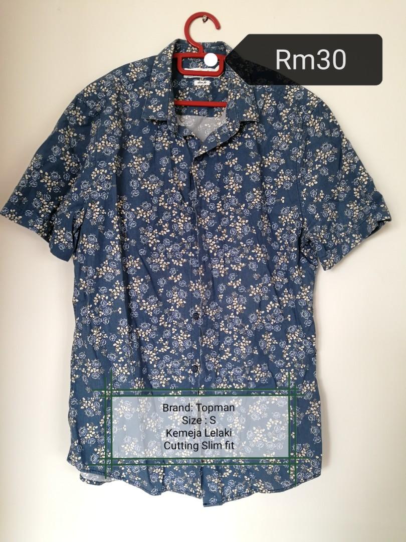1f6a497c Topman Shirt / Floral / hawaii / vintage, Men's Fashion, Clothes ...