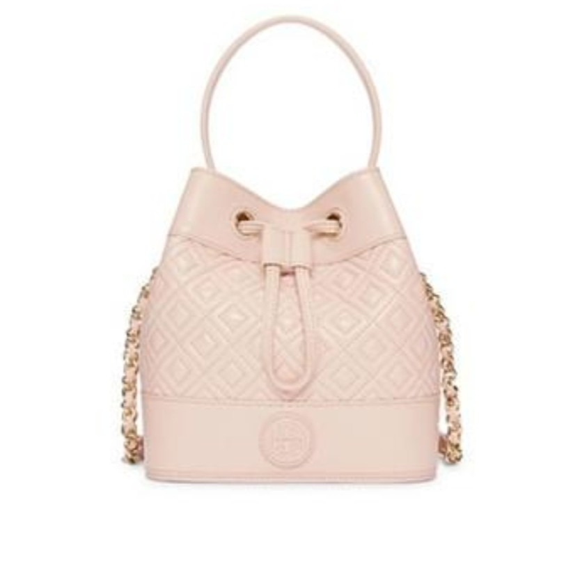 Tory Burch Marion Quilted Leather Mini bucket bag