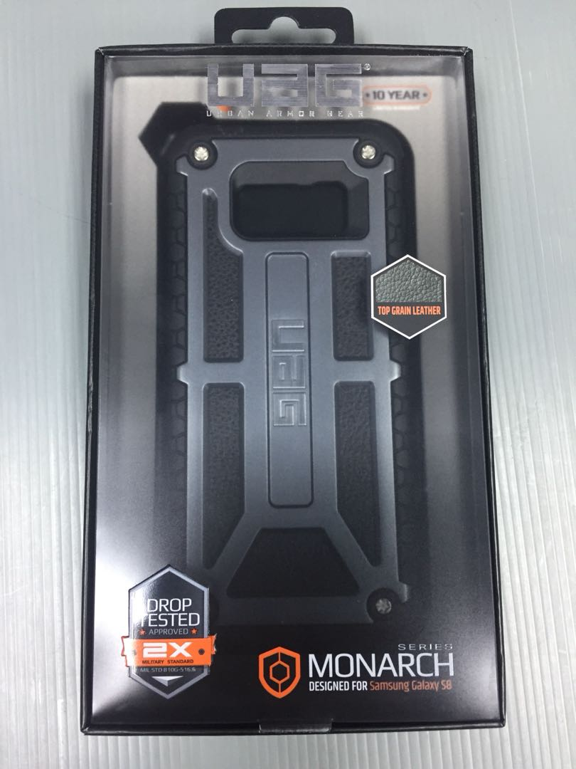 competitive price 2f5f4 f853a UAG Monarch Samsung galaxy s8