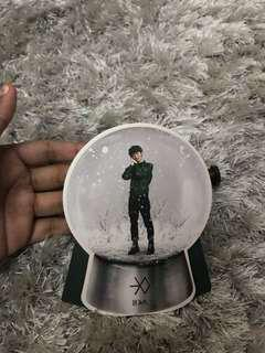 Luhan photocard snowglobe