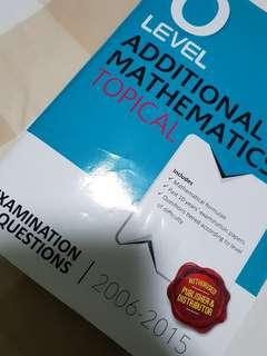 🚚 O Lev Add Math Topical Shinglee