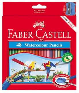 48 Faber-Castell Water Colour Pencils