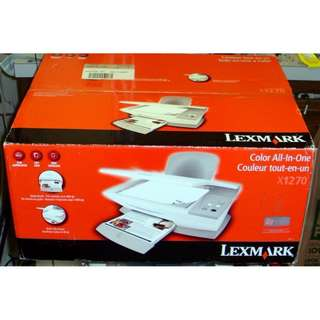 Lexmark X1270 brand new Color All in One printer Brand new