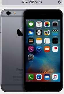 想要一部新的iPhone 6s/ 64GB