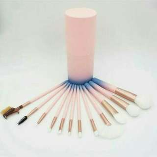 Makeup Brush Ombre 12pcs + Case