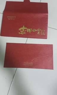 Standard chartered priority banking ang pow red packet (brand new)