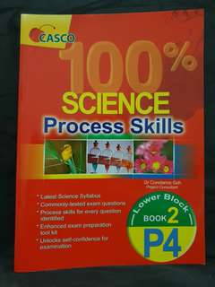 (3 fo $5) casco Primary 4 Science Assessment Book