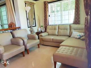 All Home L-shaped Sofa (OPEN FOR NEGO)