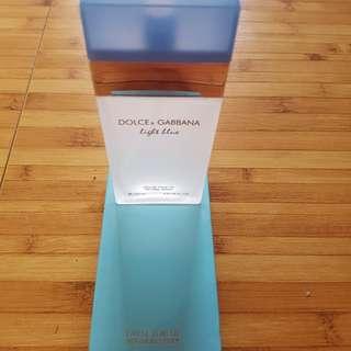 New ori sg parfum D&G light blue female