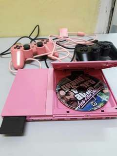 Ps2 Pink Rare Limited Edition Perfect Working