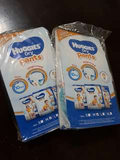 Free Sample Huggies Dry Pants size M with purchase