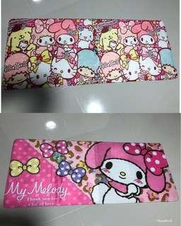 My Melody long floor mat
