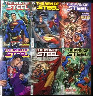 DC Comics: The Man of Steel (Complete) by Brian Michael Bendis
