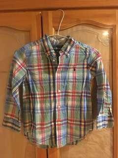 🚚 正牌Ralph Lauren  polo小童襯衫