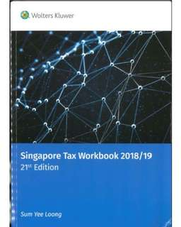 (LATEST) 2018/19 Singapore Tax Workbook (21st Edition) Sum Yee Loong EBOOK